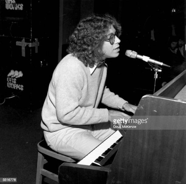 American singersongwriter Randy Edelman at the piano Edelman later found greater success composing film scores