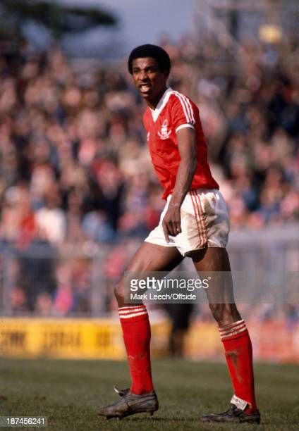 29 March 1980 Football League Division One Brighton Hove Albion v Nottingham Forest Forest defender Viv Anderson