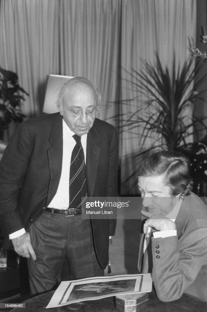 March 1981 - Roger THEROND Seance photo by <a gi-track='captionPersonalityLinkClicked' href=/galleries/search?phrase=Yousuf+Karsh&family=editorial&specificpeople=241481 ng-click='$event.stopPropagation()'>Yousuf Karsh</a>.