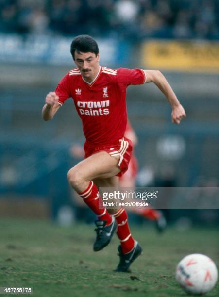29 March 1986 Football League Division One Sheffield Wednesday v Liverpool Liverpool striker Ian Rush