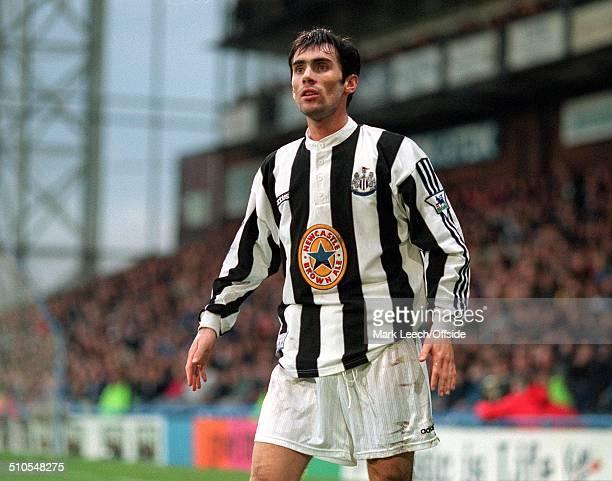 23 March 1997 FA Premiership Football Wimbledon v Newcastle United Keith Gillespie
