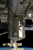 March 2, 2011 - The newly-installed Permanent Multipurpose Module (PMM) of the International Space Station.
