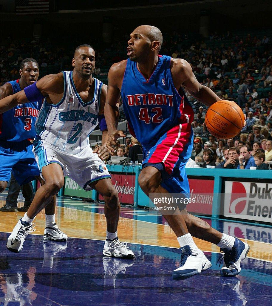 Pistons v Hornets X Stackhouse