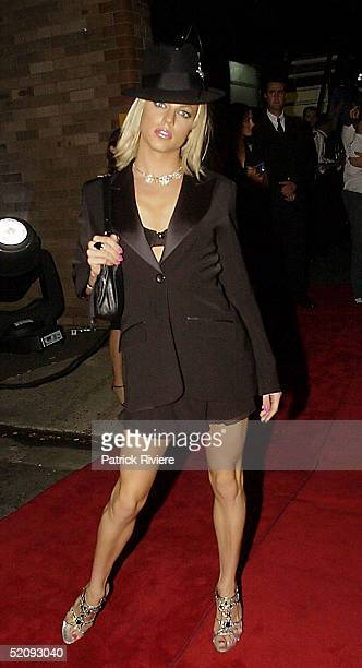 30 March 2004 Courtney Act at the Sydney Confidential Golden Slipper Soiree held at the Sydney Film TV Studios in Rozelle Sydney Australia