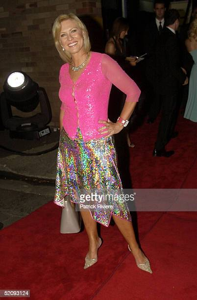 30 March 2004 KerriAnne Kennerley at the Sydney Confidential Golden Slipper Soiree held at the Sydney Film TV Studios in Rozelle Sydney Australia