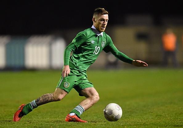 Republic of Ireland v Italy - UEFA U21 Championship Qualifier : News Photo