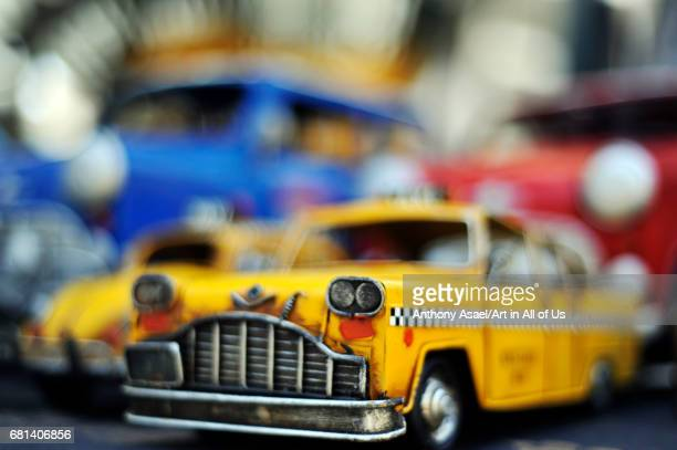 Old car toys TelAviv Israel in March 2017
