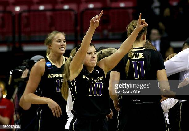 Washington Huskies guard Kelsey Plum after a NCAA Division 1women's second round championship match at Xfinity Center in College Park Maryland...