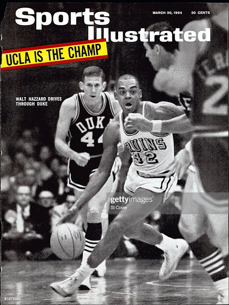 UCLA Walt Hazzard 1964 NCAA National Championship