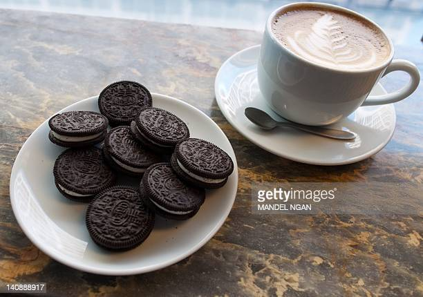 A March 7 2012 photo shows a plate of Oreo cookies in Washington DC Technically they're 'chocolate sandwich cookies' a baked concoction of sugar...
