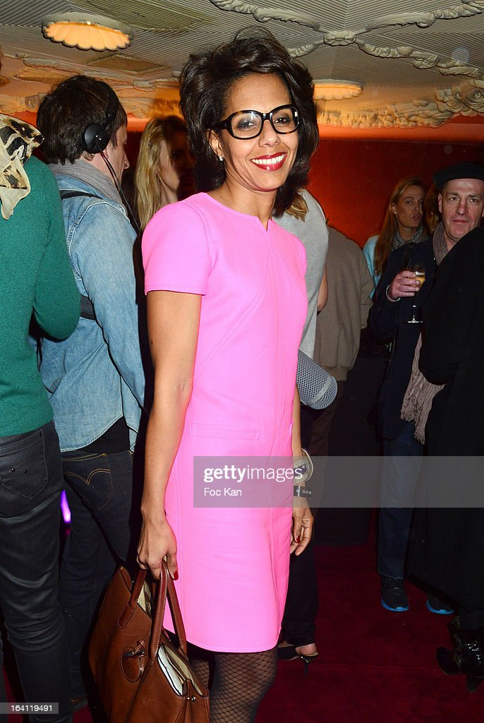 Audrey PulvarÊattends the Sushi Shop's Box Endorsed By Kate Moss Launch At La Nouvelle Eve Cabaret on March19, 2013 in Paris, France.