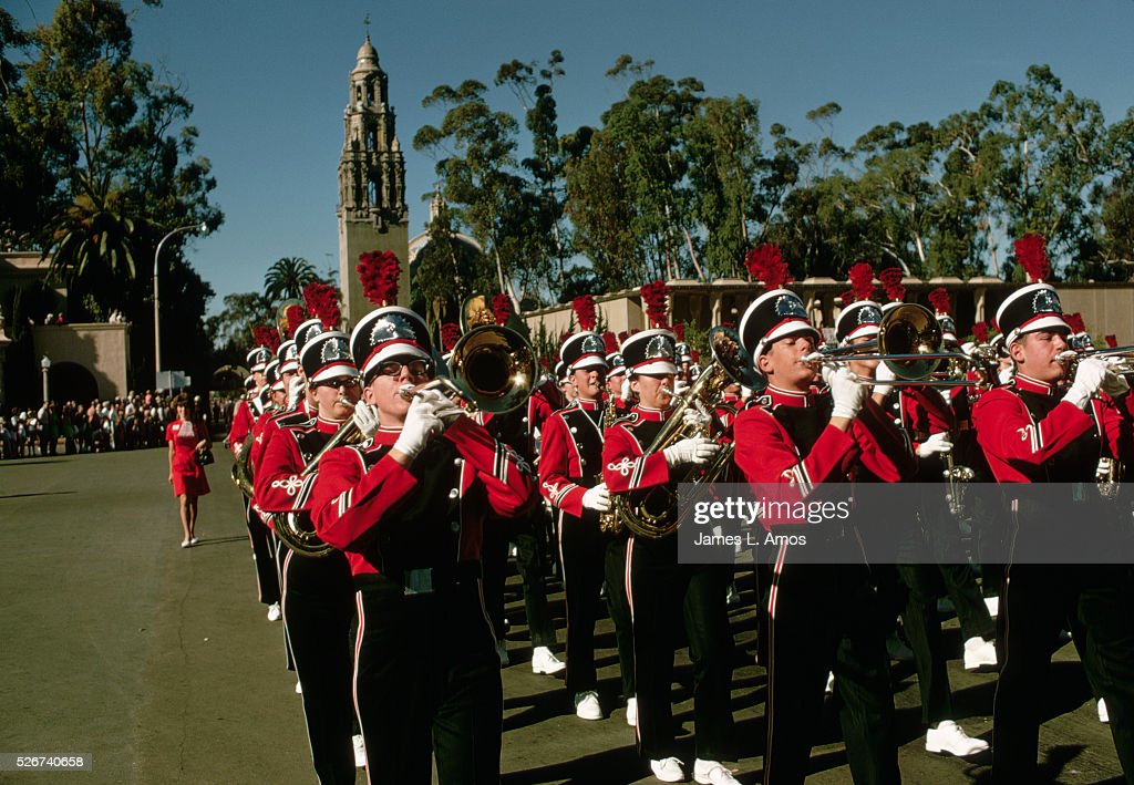 <a gi-track='captionPersonalityLinkClicked' href=/galleries/search?phrase=Marching+Band&family=editorial&specificpeople=61846 ng-click='$event.stopPropagation()'>Marching Band</a> in San Diego Bicentennial Celebration