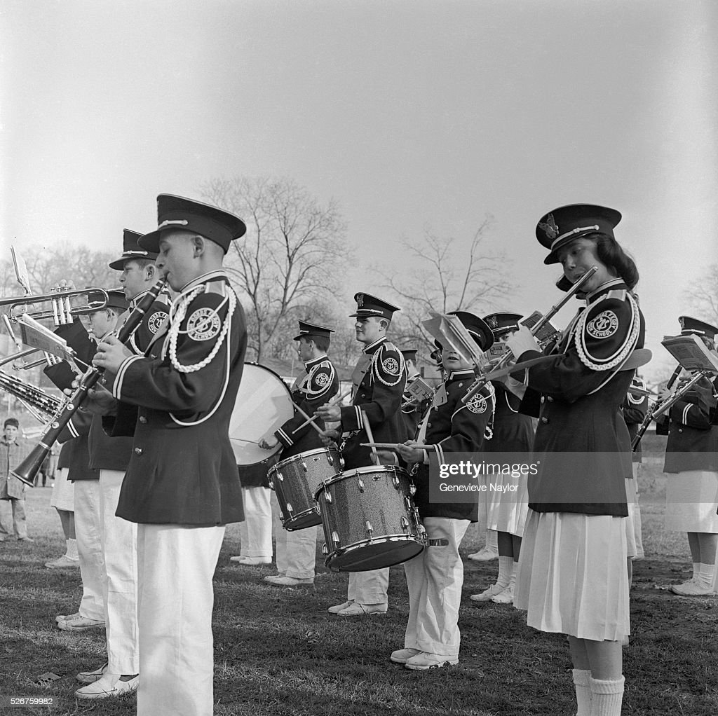 <a gi-track='captionPersonalityLinkClicked' href=/galleries/search?phrase=Marching+Band&family=editorial&specificpeople=61846 ng-click='$event.stopPropagation()'>Marching Band</a> Playing on the Field