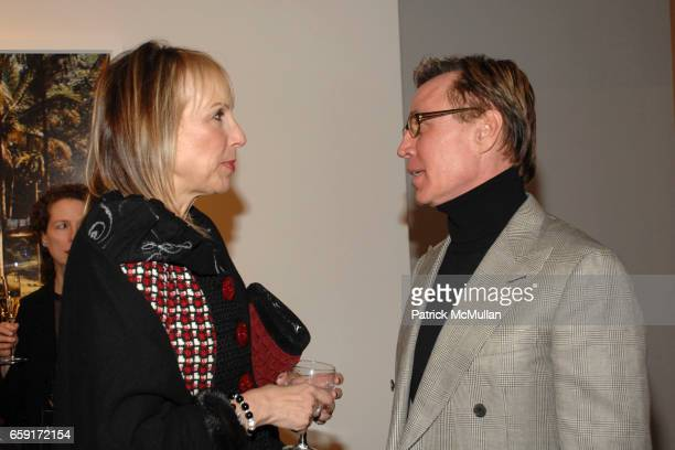 Marci Miller and Jonathan Barnett attend An Intimate Dinner Hosted By Tierney Gearon and ACE Gallery In Preview of Her New Exhibition EXPLOSURE at...