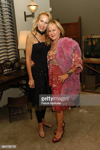 Marci Miller and Maxine Taupin attend Hip Hollywood Homes Book Launch at Blackman Cruz on September 21 2006