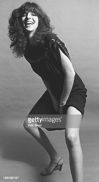 Marcia Ball publicity shoot at Studio West Chicago Illinois circa 1982