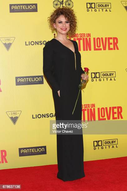 Marcia Coutino attends the 'How To Be A Latin Lover' Mexico City premiere at Teatro Metropolitan on May 3 2017 in Mexico City Mexico