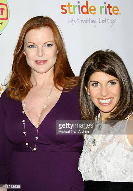Marcia Cross and Samantha Ettus author of the book 'The Experts Guide to The Baby Years'