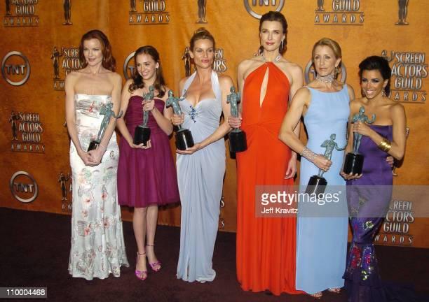 Marcia Cross Andrea Bowen Nicollette Sheridan Brenda Strong Felicity Huffman and Eva Longoria