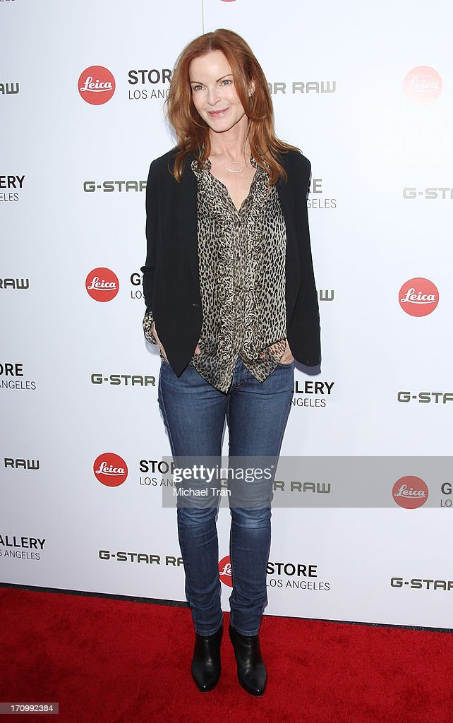 <a gi-track='captionPersonalityLinkClicked' href=/galleries/search?phrase=Marcia+Cross&family=editorial&specificpeople=202844 ng-click='$event.stopPropagation()'>Marcia Cross</a> arrives at the grand opening of the Leica Store Los Angeles held on June 20, 2013 in Los Angeles, California.
