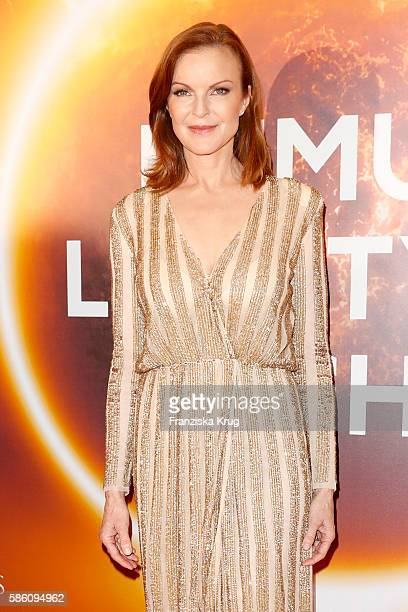 Marcia Cross attends the Remus Lifestyle Night 2016 on August 4 2016 in Palma de Mallorca Spain