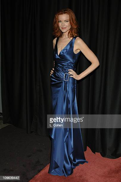 Marcia Cross during 16th Annual GLAAD Media Awards Hollywood Backstage at Kodak Theatre in Los Angeles California United States
