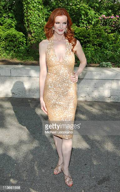 Marcia Cross during 2005/2006 ABC UpFront Arrivals at Lincoln Center in New York City New York United States
