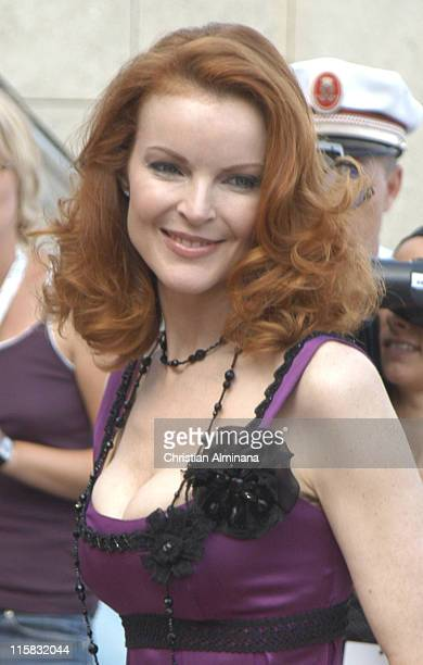 Marcia Cross during 45th Monte Carlo Television Festival Closing Award Ceremony at Grimaldi Forum in Monte Carlo Monaco