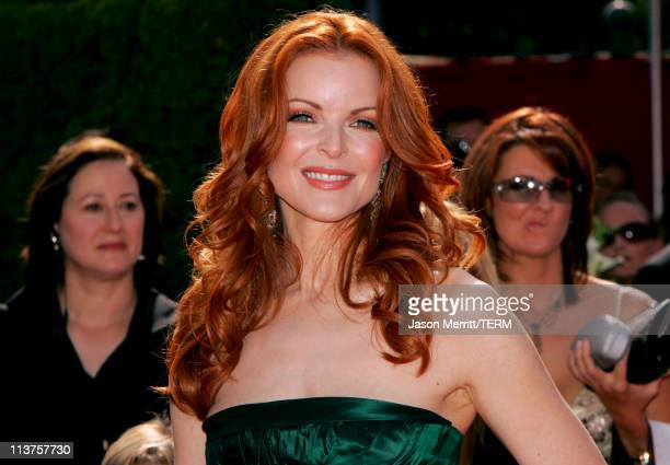 Marcia Cross during 57th Annual Primetime Emmy Awards Arrivals at The Shrine in Los Angeles California United States