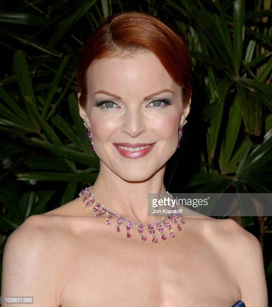 Marcia Cross during 7th Annual Costume Designers Guild Awards Arrivals at Beverly Hilton Hotel in Beverly Hills California United States