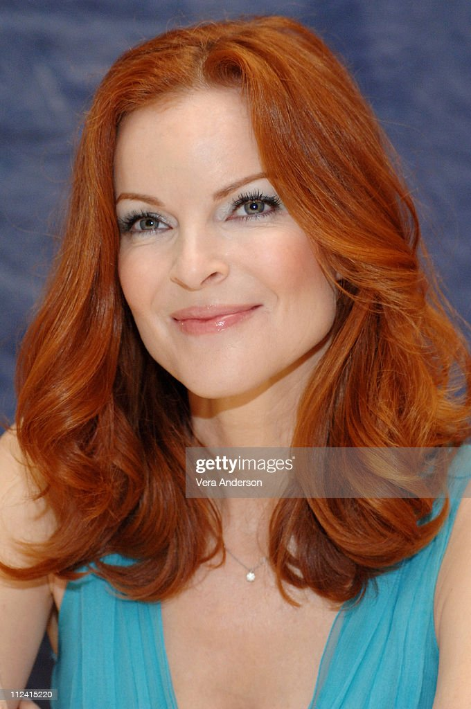 """Desperate Housewives"" Press Conference with Marcia Cross and Marc Cherry"