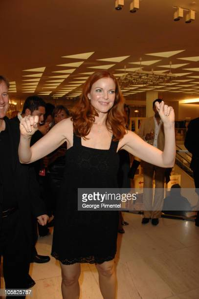 Marcia Cross during Holt Renfrew Launch Party in Vancouver at Pacific Centre Holt Renfrew Store in Vancouver British Columbia Canada