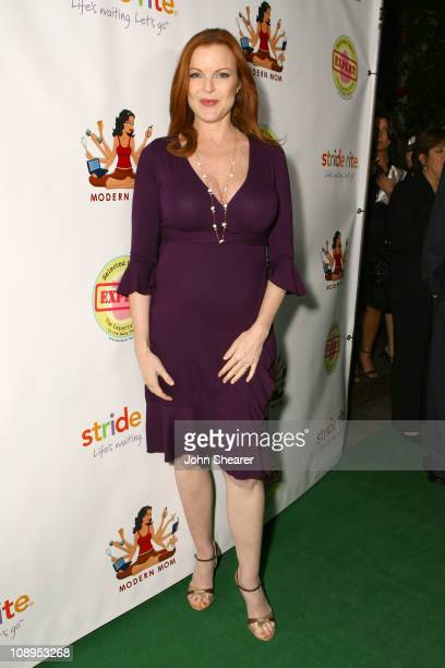 Marcia Cross during Modern Mom Mingle to Benefit Children's Health Environmental Coalition Red Carpet and Inside at Skybar @ Mondrian in Los Angeles...