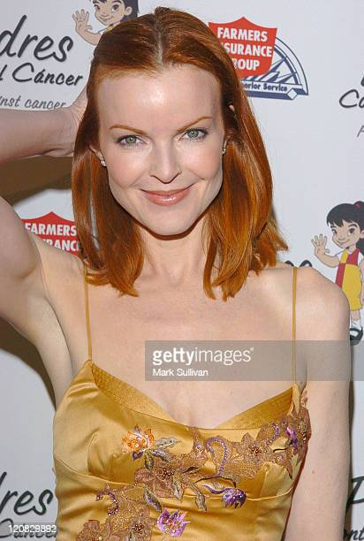 Marcia Cross during Padres Contra El Cancer 20th Anniversary Gala Honoring Eva Longoria at Skirball Cultural Center in Los Angeles California United...