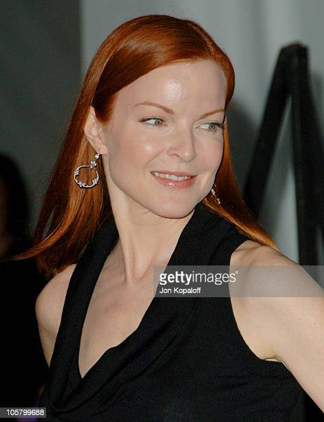 Marcia Cross during The 3rd Annual Lakers Casino Night Arrivals at Barker Hangar in Santa Monica California United States