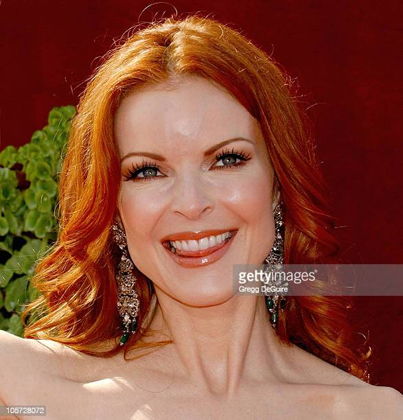 Marcia Cross during The 57th Annual Emmy Awards Arrivals at Shrine Auditorium in Los Angeles California United States