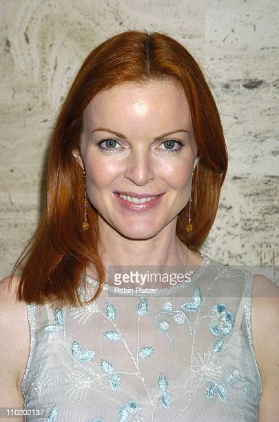 Marcia Cross during William Morris Party for Upfronts at The Four Seasons Restaurant in New York New York United States