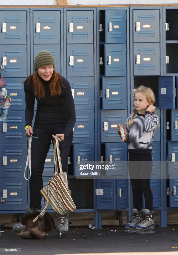 <a gi-track='captionPersonalityLinkClicked' href=/galleries/search?phrase=Marcia+Cross&family=editorial&specificpeople=202844 ng-click='$event.stopPropagation()'>Marcia Cross</a> is seen ice skating with her daughter on December 01, 2013 in Los Angeles, California.