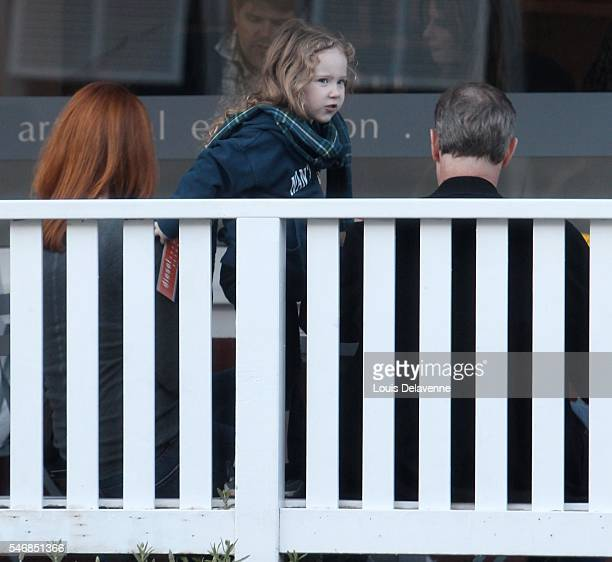 Marcia Cross Los Angeles October 30 2010 Marcia Cross her husband Tom Mahoney and one of their twin daughters either Eden or Savannah at the...