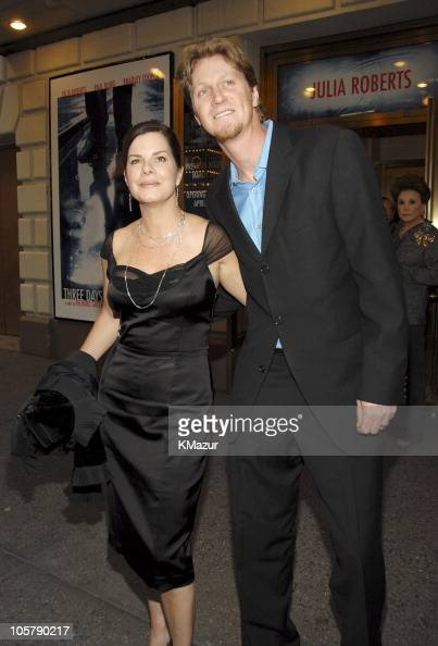 Marcia Gay Harden and Thaddeus...