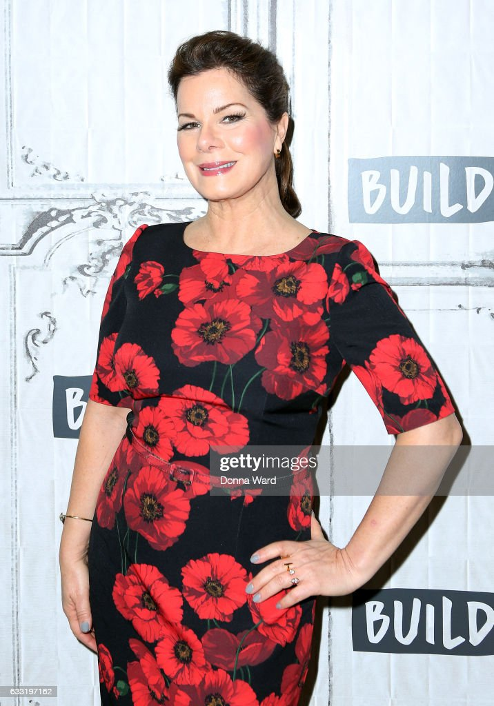Marcia Gay Harden appears to promote 'Fifty Shades Darker' during the BUILD Series at Build Studio on January 31, 2017 in New York City.
