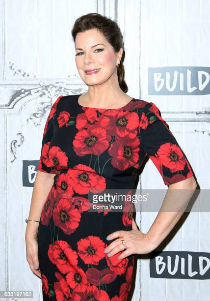Marcia Gay Harden appears to promote 'Fifty Shades Darker' during the BUILD Series at Build Studio on January 31 2017 in New York City
