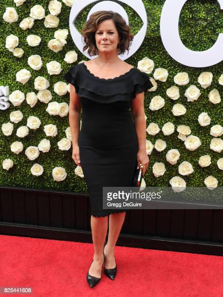 Marcia Gay Harden arrives at the 2017 Summer TCA Tour CBS Television Studios' Summer Soiree at CBS Studios Radford on August 1 2017 in Studio City...