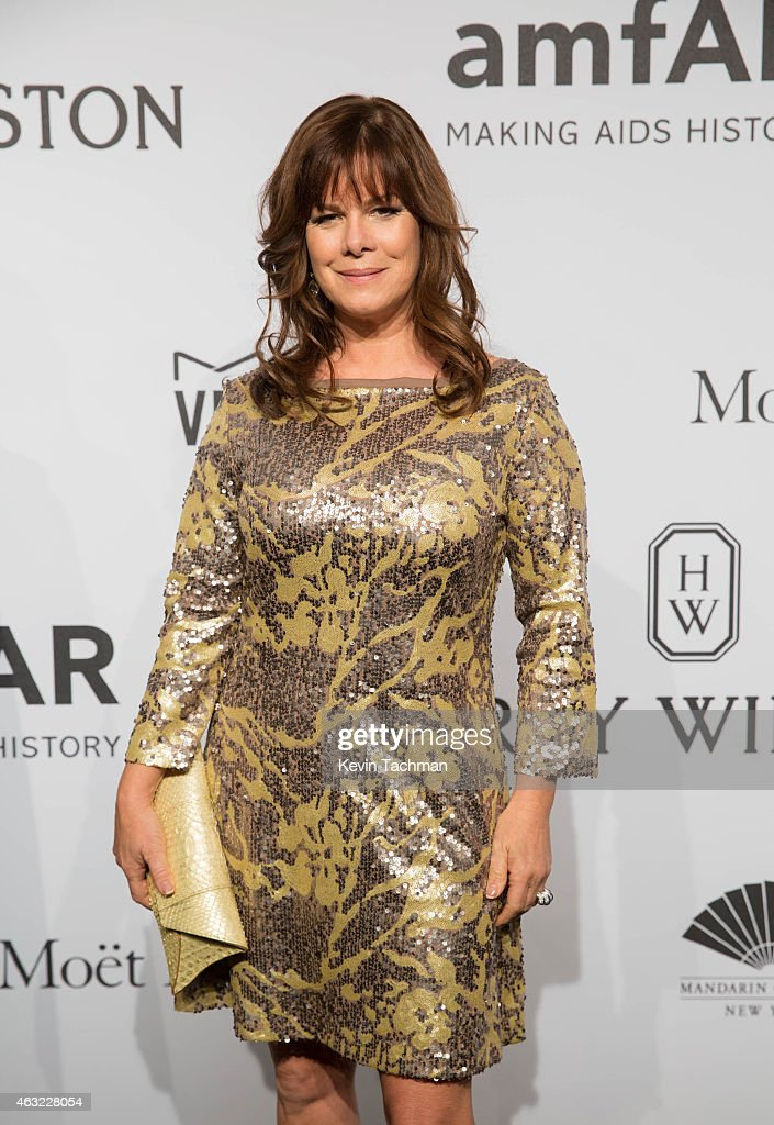 Marcia Gay Harden attends the 2015 amfAR New York Gala at Cipriani Wall Street on February 11, 2015 in New York City.