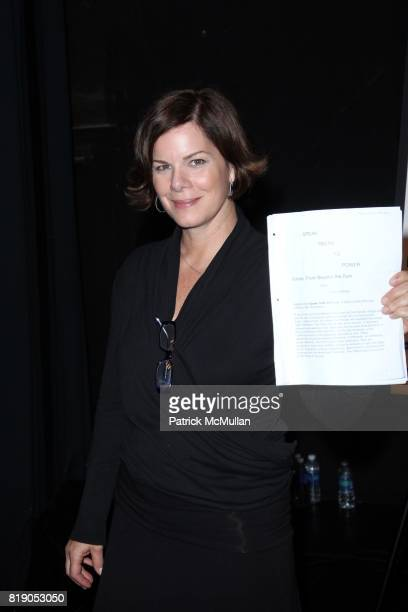 Marcia Gay Harden attends THE PUBLIC THEATRE Presents a OneNightOnly Benefit Reading of SPEAK TRUTH TO POWER Voice Beyond the Dark at The Public...