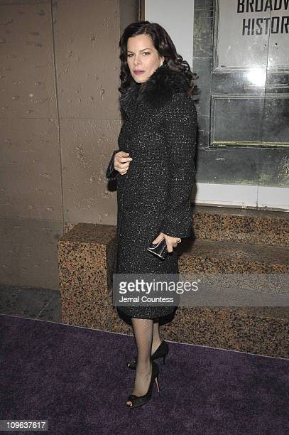 Marcia Gay Harden during Billy Crystal Hosts 'Tisch On Broadway' New York University's Tisch School of the Art's 2006 Gala Benefit Arrivals at St...