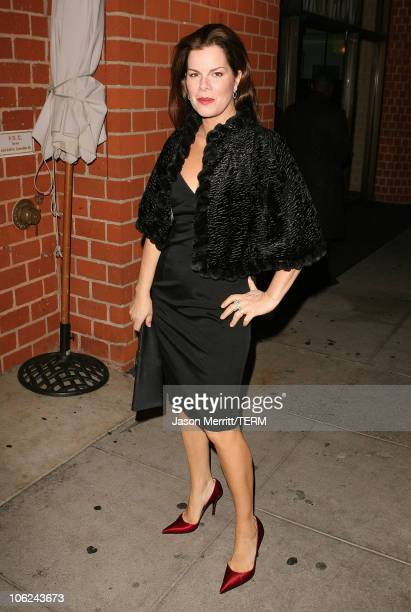 Marcia Gay Harden during ChoCheng Couture 2007 Evening Ensembles at Mr Chow in Beverly Hills California United States