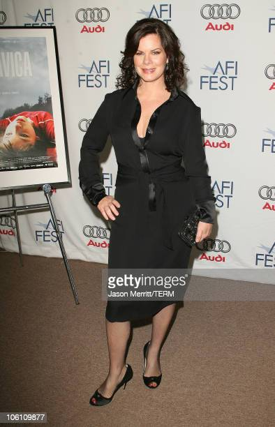Marcia Gay Harden during 'The Dead Girl' Los Angeles Premiere Arrivals at ArcLight Rooftop Loft in Hollywood California United States