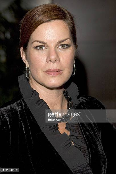 Marcia Gay Harden honorary chair during High 5 Tickets to the Arts 7th Annual Theater Benefit at Gotham Banquet Hall Millennium Broadway Hotel in New...