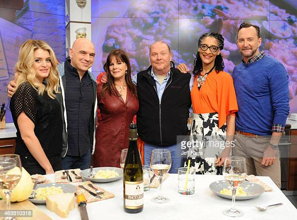 THE CHEW Marcia Gay Harden is the guest today Thursday February 12 2015 'The Chew' airs MONDAY FRIDAY on the ABC Television Network